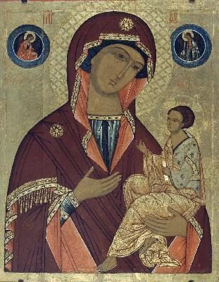 Грузинската икона на Божията Майка. XVI в.