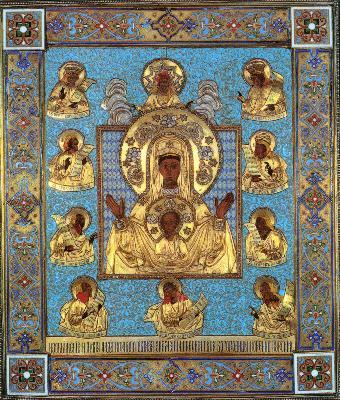 Първообраз на чудотворната икона на Пресвета Богородица Курско-Коренна ''Знамение''