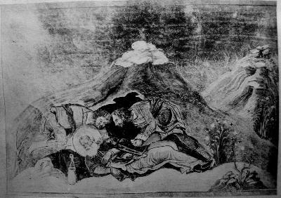 Св. мъченик Варипсав. Миниатюра от Минологията на Василий II. Константинопол. 985 г.