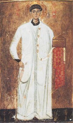 Св. първомъченик архидякон Стефан. Икона от Византия. XIII век. Манастира ''св. Екатерина'' на Синай - Египет