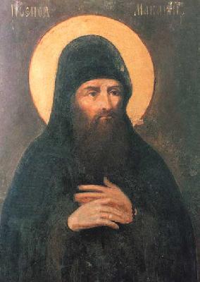 Св. преподобни Макарий, постник Печерски