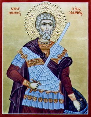Свети мъченик Маврикий