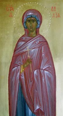 Св. мъченица Лидия