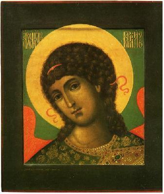 Св. Архангел Гавриил. Руска икона от 1680 г.