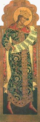 Св. праотец Иосиф Прекрасни. Икона от Русия, гр. Ярославл. XVII в.