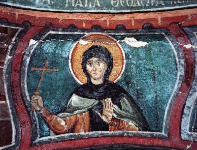 Св. преподобна Теодора Солунска