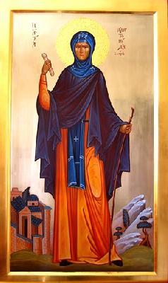 Св. преподобна Платонида Сирска
