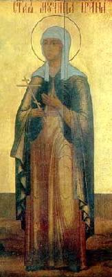 Света мъченица Ирина Коринтска