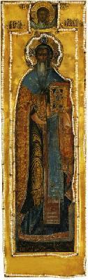 Свети свещеномъченик Симеон, епископ Персийски. Руска икона от 1665 г.