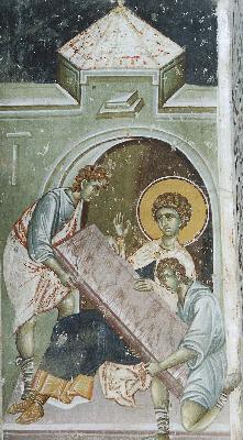 Мъчение на Великомъченик Георги Победоносец
