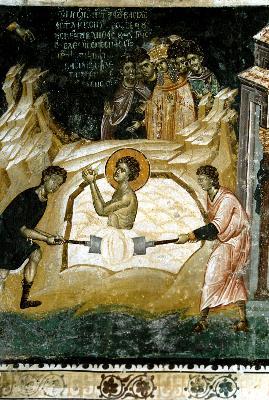 Мъчение на Великомъченик Георги Победоносец 2