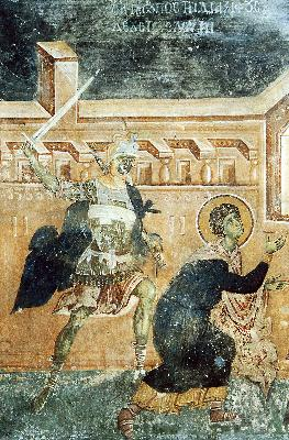 Мъченичество на Великомъченик Георги Победоносец