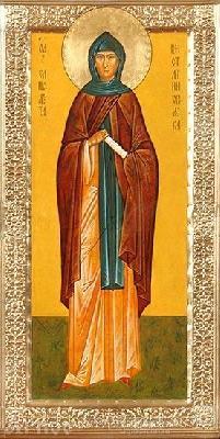 СВ. игумения Елисавета Константинополска