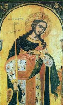 света мъченица Керкира девица