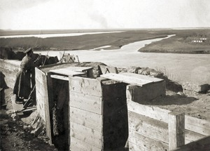 Позиции на българската пехота, Южен фронт, 1918 г.